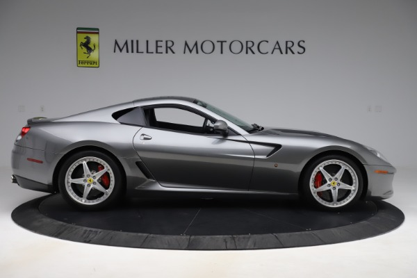 Used 2010 Ferrari 599 GTB Fiorano HGTE for sale Sold at Aston Martin of Greenwich in Greenwich CT 06830 9