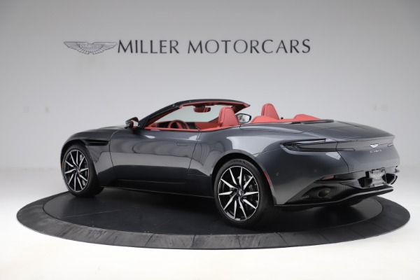 Used 2020 Aston Martin DB11 Volante Convertible for sale Sold at Aston Martin of Greenwich in Greenwich CT 06830 3
