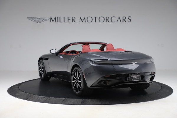 Used 2020 Aston Martin DB11 Volante Convertible for sale Sold at Aston Martin of Greenwich in Greenwich CT 06830 4