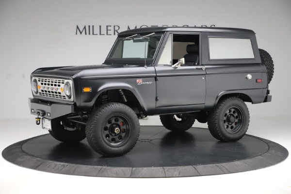 Used 1972 Ford Bronco Icon for sale Sold at Aston Martin of Greenwich in Greenwich CT 06830 2