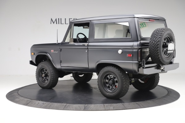 Used 1972 Ford Bronco Icon for sale Sold at Aston Martin of Greenwich in Greenwich CT 06830 4