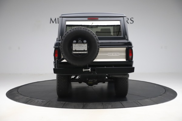 Used 1972 Ford Bronco Icon for sale Sold at Aston Martin of Greenwich in Greenwich CT 06830 6