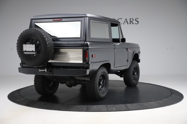 Used 1972 Ford Bronco Icon for sale Sold at Aston Martin of Greenwich in Greenwich CT 06830 7