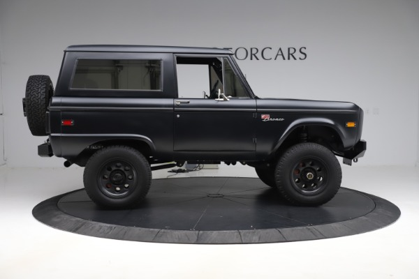 Used 1972 Ford Bronco Icon for sale Sold at Aston Martin of Greenwich in Greenwich CT 06830 9