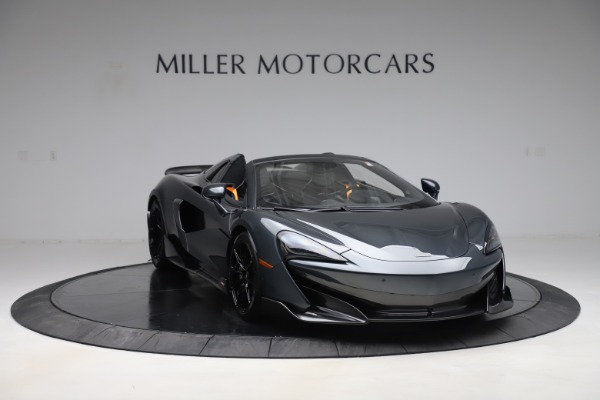 Used 2020 McLaren 600LT SPIDER Convertible for sale $249,900 at Aston Martin of Greenwich in Greenwich CT 06830 10