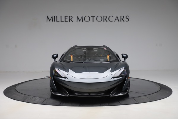 Used 2020 McLaren 600LT SPIDER Convertible for sale $249,900 at Aston Martin of Greenwich in Greenwich CT 06830 11
