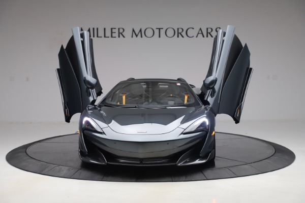 Used 2020 McLaren 600LT Spider for sale Sold at Aston Martin of Greenwich in Greenwich CT 06830 12