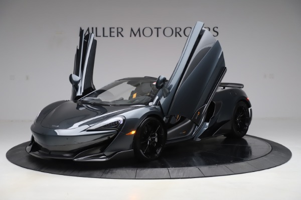 Used 2020 McLaren 600LT Spider for sale Sold at Aston Martin of Greenwich in Greenwich CT 06830 13