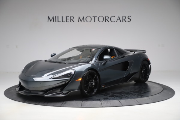 Used 2020 McLaren 600LT SPIDER Convertible for sale $249,900 at Aston Martin of Greenwich in Greenwich CT 06830 14