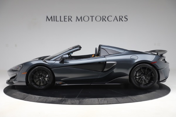 Used 2020 McLaren 600LT SPIDER Convertible for sale $249,900 at Aston Martin of Greenwich in Greenwich CT 06830 2