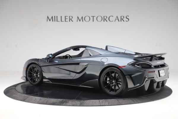 Used 2020 McLaren 600LT SPIDER Convertible for sale $249,900 at Aston Martin of Greenwich in Greenwich CT 06830 3