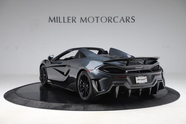 Used 2020 McLaren 600LT SPIDER Convertible for sale $249,900 at Aston Martin of Greenwich in Greenwich CT 06830 4
