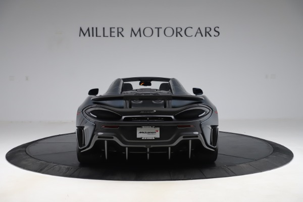 Used 2020 McLaren 600LT SPIDER Convertible for sale $249,900 at Aston Martin of Greenwich in Greenwich CT 06830 5