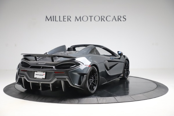 Used 2020 McLaren 600LT SPIDER Convertible for sale $249,900 at Aston Martin of Greenwich in Greenwich CT 06830 6