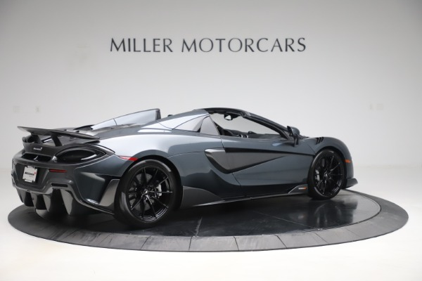 Used 2020 McLaren 600LT SPIDER Convertible for sale $249,900 at Aston Martin of Greenwich in Greenwich CT 06830 7