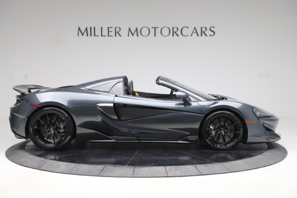 Used 2020 McLaren 600LT SPIDER Convertible for sale $249,900 at Aston Martin of Greenwich in Greenwich CT 06830 8