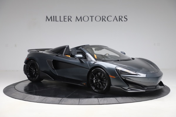Used 2020 McLaren 600LT SPIDER Convertible for sale $249,900 at Aston Martin of Greenwich in Greenwich CT 06830 9