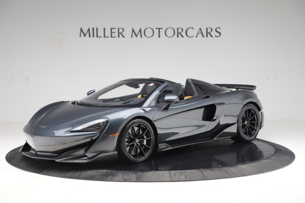 Used 2020 McLaren 600LT Spider for sale Sold at Aston Martin of Greenwich in Greenwich CT 06830 1