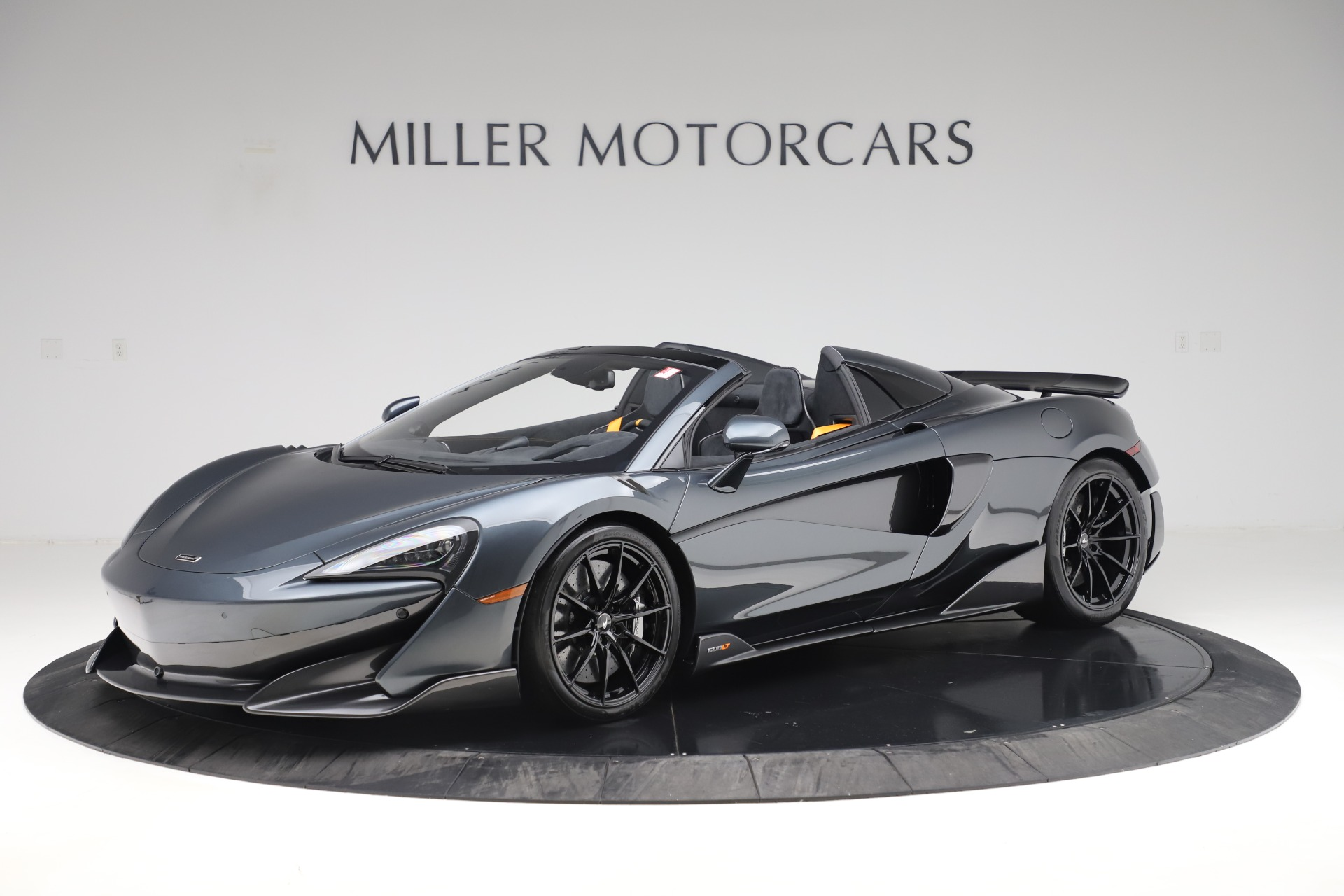 New 2020 McLaren 600LT SPIDER Convertible for sale Sold at Aston Martin of Greenwich in Greenwich CT 06830 1