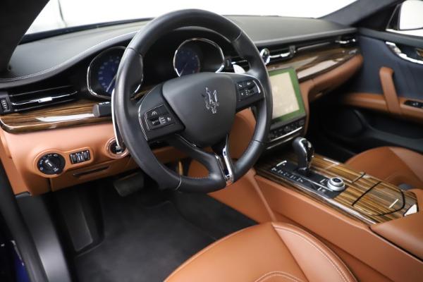 Used 2017 Maserati Quattroporte S Q4 GranLusso for sale Sold at Aston Martin of Greenwich in Greenwich CT 06830 13