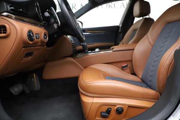 Used 2017 Maserati Quattroporte S Q4 GranLusso for sale Sold at Aston Martin of Greenwich in Greenwich CT 06830 14