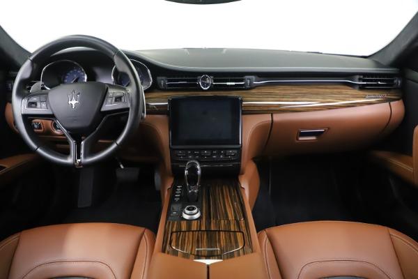 Used 2017 Maserati Quattroporte S Q4 GranLusso for sale Sold at Aston Martin of Greenwich in Greenwich CT 06830 16