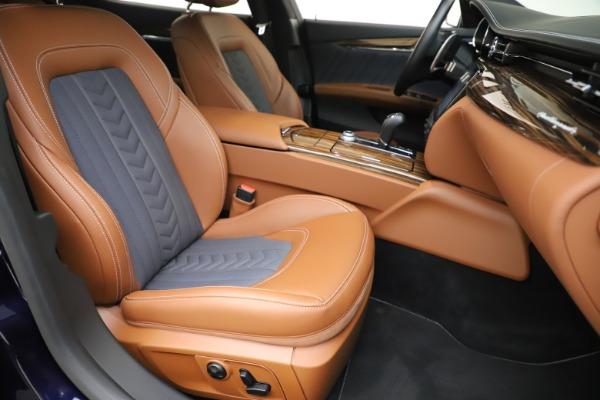 Used 2017 Maserati Quattroporte S Q4 GranLusso for sale Sold at Aston Martin of Greenwich in Greenwich CT 06830 24