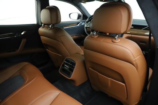 Used 2017 Maserati Quattroporte S Q4 GranLusso for sale Sold at Aston Martin of Greenwich in Greenwich CT 06830 28