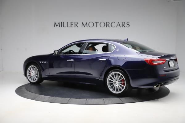 Used 2017 Maserati Quattroporte S Q4 GranLusso for sale Sold at Aston Martin of Greenwich in Greenwich CT 06830 4