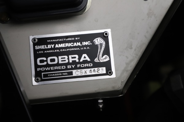 Used 1965 Ford Cobra CSX for sale Sold at Aston Martin of Greenwich in Greenwich CT 06830 14