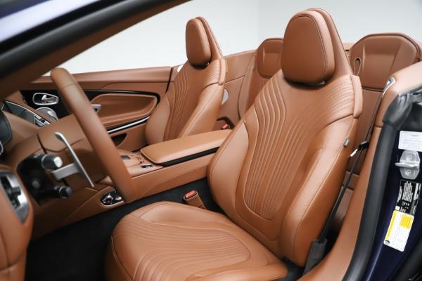 New 2020 Aston Martin DB11 Volante Convertible for sale Sold at Aston Martin of Greenwich in Greenwich CT 06830 23