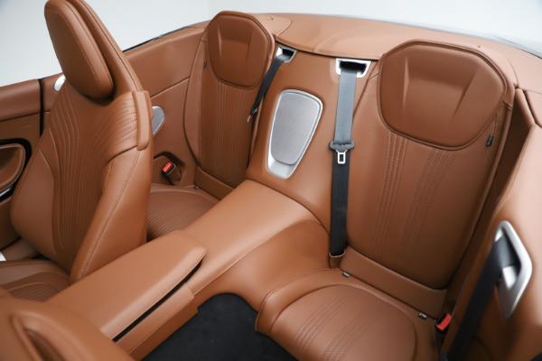 New 2020 Aston Martin DB11 Volante Convertible for sale Sold at Aston Martin of Greenwich in Greenwich CT 06830 24