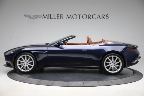 New 2020 Aston Martin DB11 Volante Convertible for sale Sold at Aston Martin of Greenwich in Greenwich CT 06830 3
