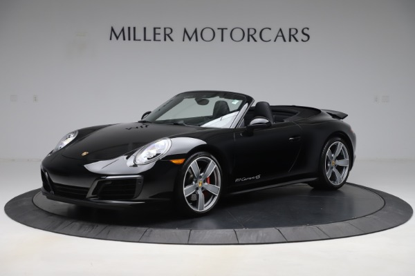 Used 2017 Porsche 911 Carrera 4S for sale $109,900 at Aston Martin of Greenwich in Greenwich CT 06830 2
