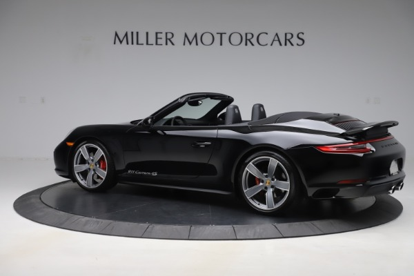 Used 2017 Porsche 911 Carrera 4S for sale $109,900 at Aston Martin of Greenwich in Greenwich CT 06830 4