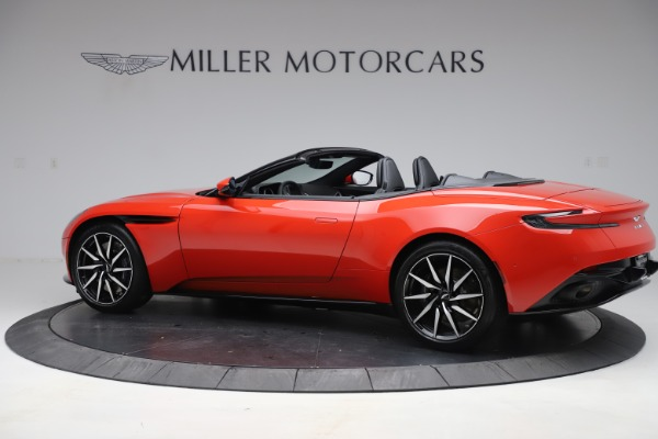New 2020 Aston Martin DB11 Volante Convertible for sale $254,531 at Aston Martin of Greenwich in Greenwich CT 06830 3