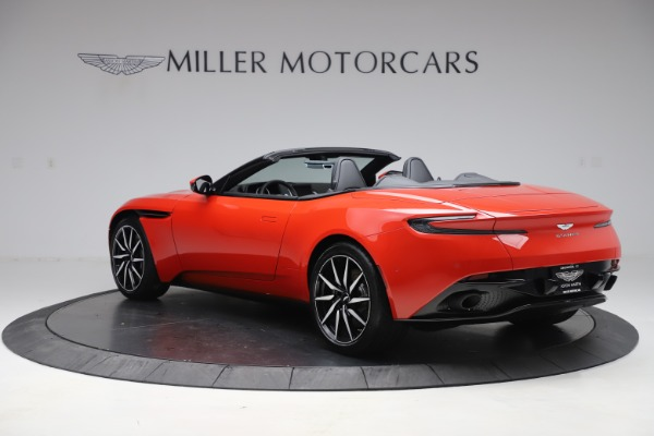 New 2020 Aston Martin DB11 Volante Convertible for sale $254,531 at Aston Martin of Greenwich in Greenwich CT 06830 4