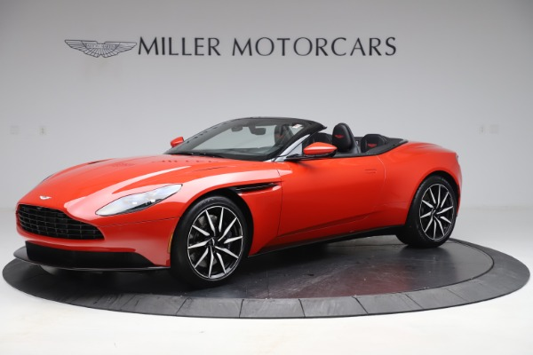New 2020 Aston Martin DB11 Volante Convertible for sale $254,531 at Aston Martin of Greenwich in Greenwich CT 06830 1