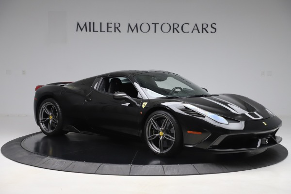 Used 2015 Ferrari 458 Speciale Aperta for sale $635,900 at Aston Martin of Greenwich in Greenwich CT 06830 18