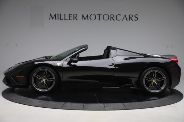 Used 2015 Ferrari 458 Speciale Aperta for sale $635,900 at Aston Martin of Greenwich in Greenwich CT 06830 3