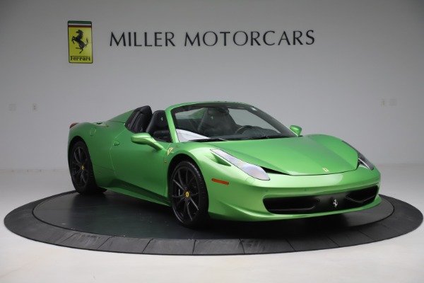 Used 2015 Ferrari 458 Spider for sale Sold at Aston Martin of Greenwich in Greenwich CT 06830 11