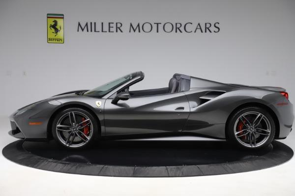 Used 2018 Ferrari 488 Spider for sale $293,900 at Aston Martin of Greenwich in Greenwich CT 06830 3