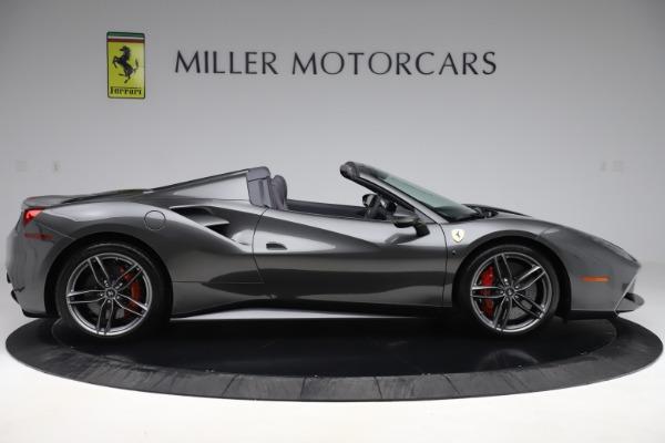 Used 2018 Ferrari 488 Spider for sale $293,900 at Aston Martin of Greenwich in Greenwich CT 06830 9