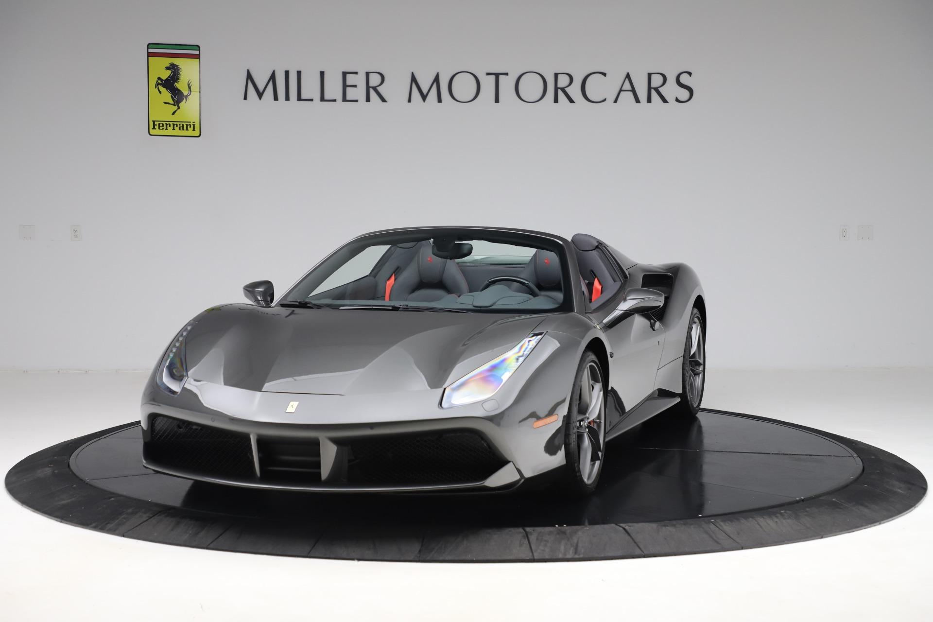 Used 2018 Ferrari 488 Spider for sale $293,900 at Aston Martin of Greenwich in Greenwich CT 06830 1