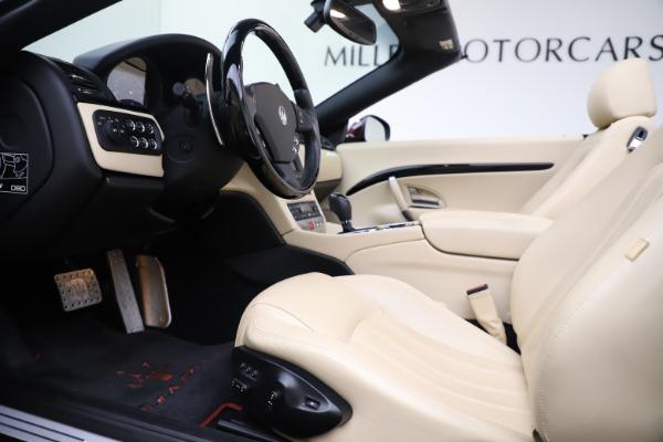 Used 2013 Maserati GranTurismo for sale Sold at Aston Martin of Greenwich in Greenwich CT 06830 20