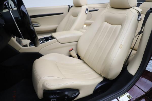Used 2013 Maserati GranTurismo for sale Sold at Aston Martin of Greenwich in Greenwich CT 06830 21