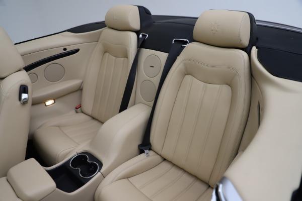 Used 2013 Maserati GranTurismo for sale Sold at Aston Martin of Greenwich in Greenwich CT 06830 24