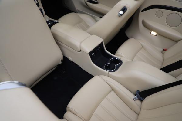Used 2013 Maserati GranTurismo for sale Sold at Aston Martin of Greenwich in Greenwich CT 06830 25