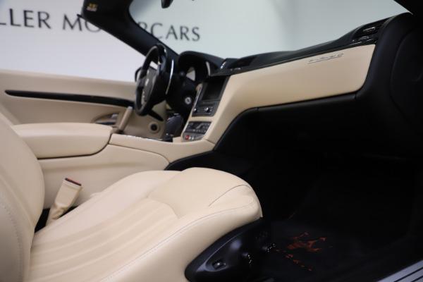Used 2013 Maserati GranTurismo for sale Sold at Aston Martin of Greenwich in Greenwich CT 06830 27