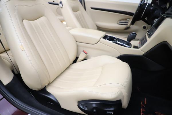 Used 2013 Maserati GranTurismo for sale Sold at Aston Martin of Greenwich in Greenwich CT 06830 28